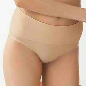 Spanx 017 Undie Techtable Panty NUDE SZ.L D #11